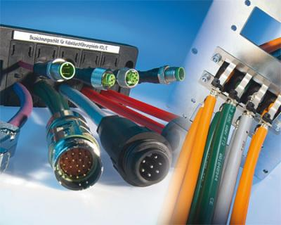 Cable entry systems for pre-assembled cables